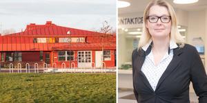 Lina Axelsson Kihlblom, chef för barn- och utbildningsförvaltningen, om oroligheterna på Vanstaskolan i Ösmo.