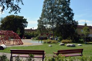 Hantverksparken är ett populärt tillhåll för Södermalms barnfamiljer.