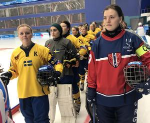 Matilda Svenler, till vänster i bild. Bild: Örjan Stål