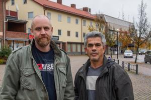 """""""Vi vill ha nattvandrare av alla nationaliteter"""", säger Mikael Djupenström. """"Vi gör ingen skillnad på människor. Vi hjälper alla"""", tillägger Ayman Hamade."""
