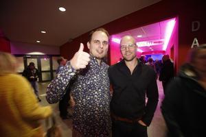 Fredrik Nilsson och Emil Lundberg, från Sundsvall, var peppade att se Lars Winnerbäck. Fredrik menade på att han är en av artistens största fans.