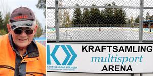 Kraftsamling Fränsta efterlyser en dialog med kommunen kring framtidens underhåll av multisportbanan.