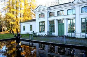 Orangeriet byggdes i mitten av 1800-talet.