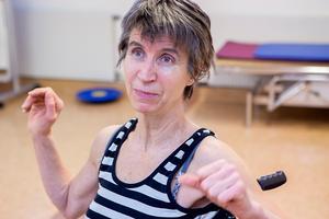 Anita M Westlund vägrar bli ett vårdpaket.