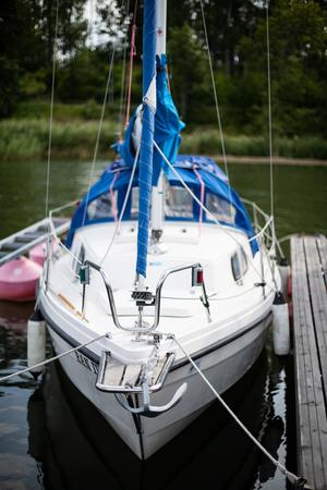 Sten-Åkes båt heter Habijack.