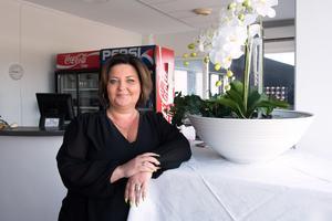 Restauratören Erika Howcroft har flyttat travrestaurangen till huvudbyggnaden och hon ser en stor potential till att utveckla både serveringen och travbanan.