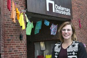Isabell Boväng, Dalarnas museum, uppmanar Faluborna att delta i konstprjektet