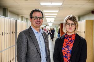 Socialdemokraterna går till val på att motverka segregation. Peder Björk och Lisa Lööf presenterade under måndagen delar av sitt valprogram på Västermalms skola.