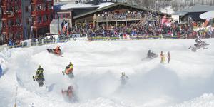 Johan Eriksson Invitational lockade många deltagare till Hamra Ski Lodge och stadioncrossen.