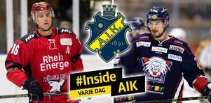 Tobias Viklund och Johannes Salmonsson har båda varit i kontakt med AIK den senaste tiden. Bild: Bildbyrån