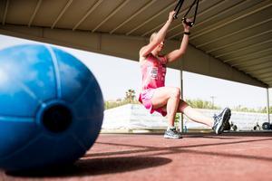 Lisa Hörnblad under ett förläger inför OS april 2017, långt innan hon visste att hon skulle bli uttagen.FOTO: Bildbyrån