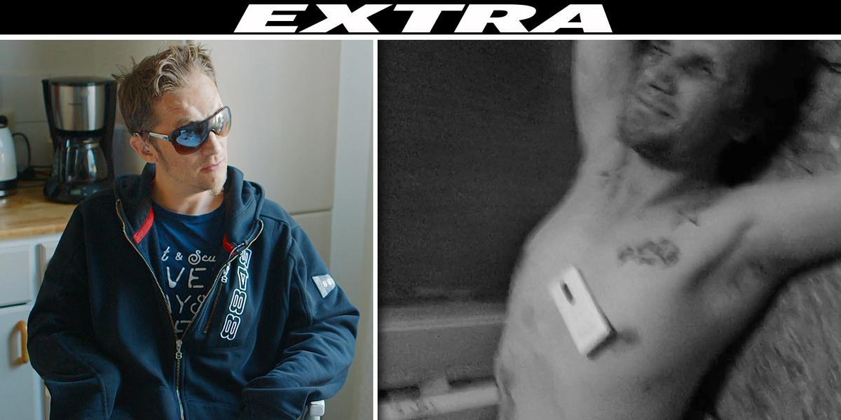 """TV: Blinde Rauno överfölls och sköts i hemmet: """"Jag sa nej – då skjuter han av"""""""