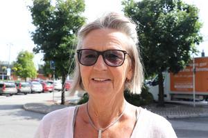 Ewa Östin, 65 år, pensionär, Fränsta:
