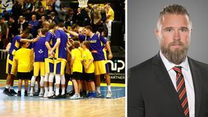 Till höger: basketförbundets generalsekreterare Johan Stark. Foto: TT