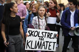 Greta Thunberg retar upp många med sin klimataktivism. Bild: TT