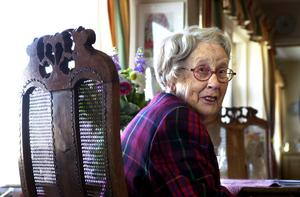 Ingrid Segerstedt-Wiberg hade skämts över Gotlandsliberalernas bojkott av dagens manifestation till minne av Kristallnatten.