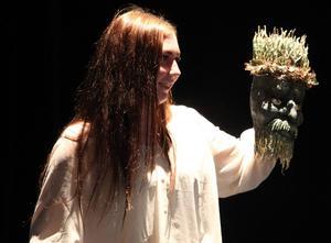 Lina Andersson vann konst och hantverksklassen.