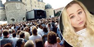 Isabell Hammarströms föräldrar träffades på Slottsfestivalen i Örebro 1997.