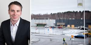 """""""Södertälje är bland de som har absolut bäst framförhållning när kommunen växer"""", säger Thomas Holm, vice vd på Svenska handelsfastigheter."""