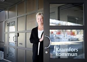Inga-Lena Arkeflod, verksamhetschef för hemtjänsten på Kramfors kommun.