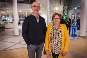 Anette Engberg och Jan-Åke Andersson hade tagit sig ända från Norderåsen, fyra mil norr om Östersund, för att se föreställningen.