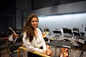 Nazanin Aghakhani strävade redan som barn att arbeta som dirigent, något hon också lyckades uppnå.