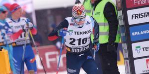 Jens Burman åkte hem guldet på tredje sträckan för Åsarna.