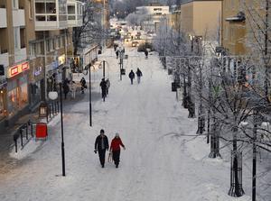 Kramfors finns med på listan över Sveriges fulaste städer. Arkivbild