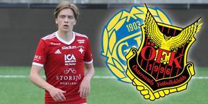Inget namn för Östersunds FK? IFK Östersunds Jakob Johnsson har fått erbjudande från Giffarna, men ÖFK har än så länge inte hört av sig. Bild: Jakob Larsson.