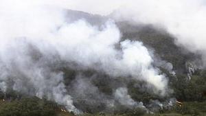 Blue mountains, som Rolf  Östberg tänkt besöka, har drabbats av bränderna.
