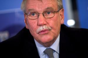 IFK Göteborgs mångårige ordförande Gunnar Larsson har avlidit i sviterna av covid-19. Arkivbild.