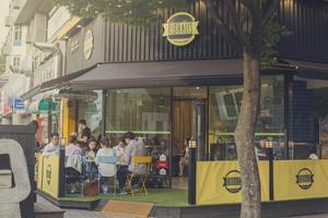 Mitt i centrala Seoul, Sydkoreas huvudstad, har Västeråsrestaurangen Ribhaus öppnat på franchisebasis. Foto: Eric Nyberg