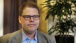 Anders Wigelsbo (C) kritiseras för sitt uttalande i kommunfullmäktige.