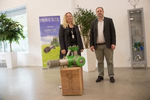 Susanne och Stefan Mastonstråle räknar med att företagsrekonstruktionen ska lyckas så att tillverkningen kan fortsätta i Gävle.