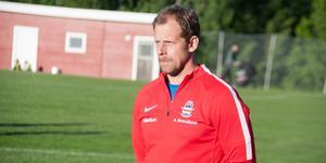 Anders Strandlund, tränare i Stöde IF. Bild: Petter Öhrling