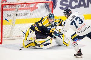 Alexander Sahlin gjorde en stark säsong efter sin comeback – och är nu aktuell för en fortsättning i SSK. Foto: Bildbyrån.