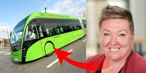 Toppolitikern Ullis Sandberg gör moderata eftergifter för att rädda superbussarna – stoppar ombyggnaden av Hertig Karls Allé.