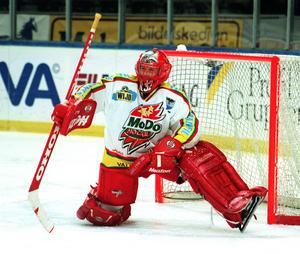 Modo-profilen Petter Rönnquist in action. Bild: Bildbyrån