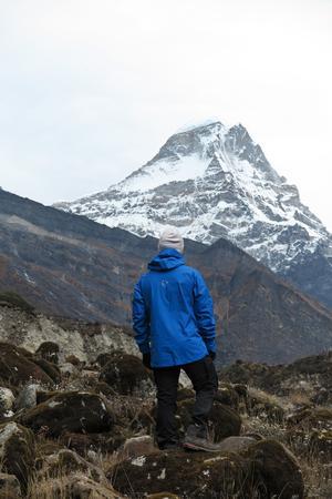 Vandring i Himalaya. Foto: Privat