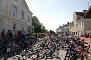Centrala Norberg fylldes till brädden med cyklar, cyklister och åskådare när Engelbrektsloppet gick av stapeln på söndagen.