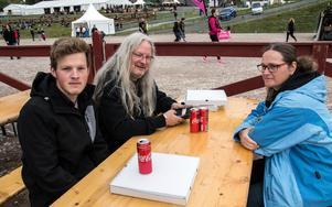 """""""Det är en vänlig festival för hela familjen, vi har blivit stammisar"""" säger Markus Markus Beye som är i Falun för femte gången med hustrun Ruth och sonen Daniel."""