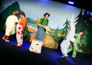Dunderklumpen har tidigare satts upp på scen i Jämtland i teater Bardas regi 2008.