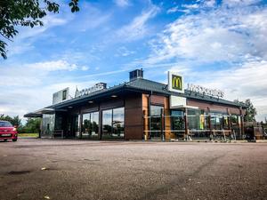 Mc Donald's på Stenby i Västerås.