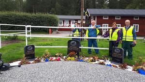 Tre berömda hästars minnesplats