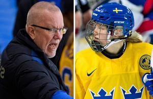 Leif Boork har gett Maja Nylén-Persson ett stort förtroende under OS. Foto: Carl Sandin / BILDBYRÅN.