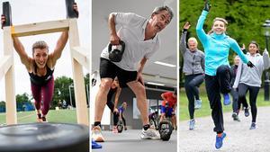 Högintensiv intervallträning och gruppträning i stora grupper är något som trendar inom motion och hälsa.