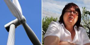 Detta är ett montage – vindkraftverket på bilden har inget med texten att göra.
