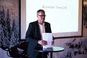 Lars Backlund omvaldes och fortsätter som ordförande i Timrå IK.