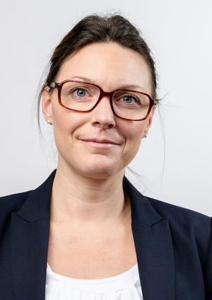 Caroline Stilling, platschef på Veterankraft Dalarna, söker 50 pensionärer som vill arbeta. Foto: Veterankraft