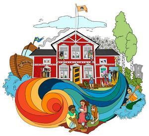 Visionerna för Tolfhamn är många. Planen är ett konstnärligt vandrarhem med ateljé och en upplevelseramp nere vid ån, allt med inriktning på barn, ungdomar och funktionshindrade. Bild: Emma Lindberg